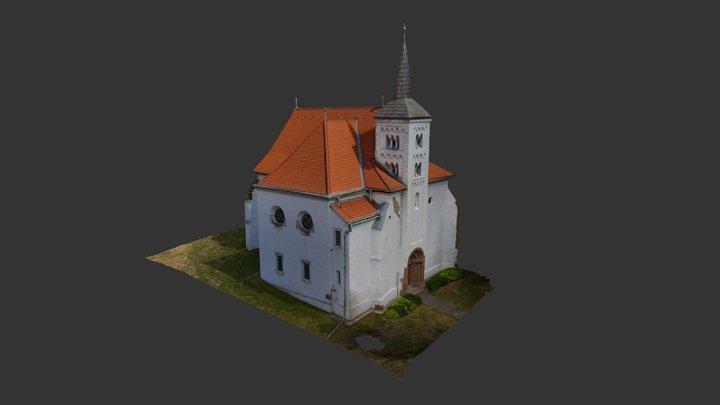 kostol Svätuše 3D Model
