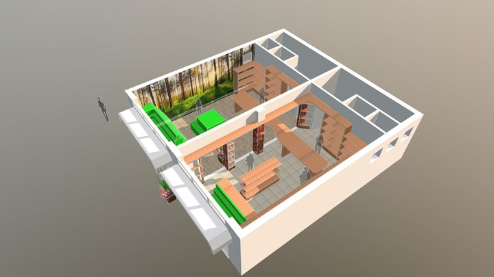 Erboristeria 3D Model