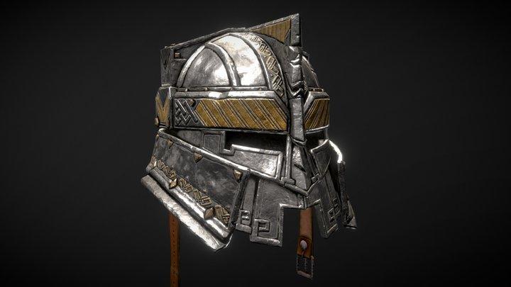 Dwarf Helmet 3D Model