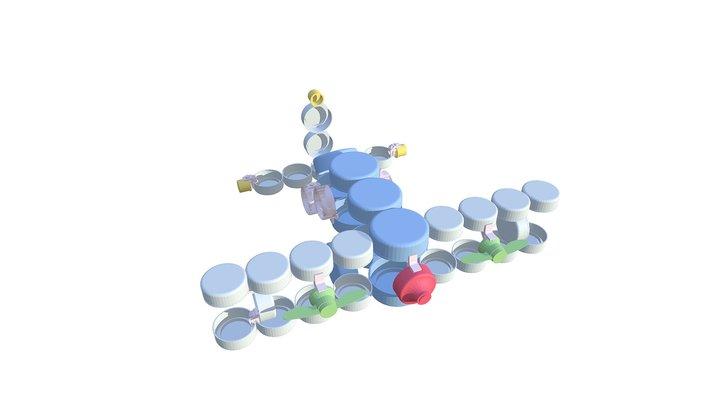 CLIP IT 3D  - BIPLANE / BIPLAN 3D Model