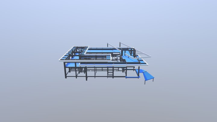 Nova Sede JMD Urbanismo 3D Model