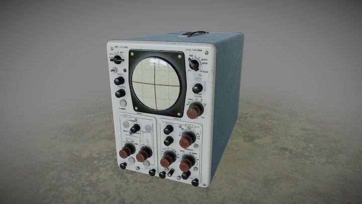 Oscilloscope C1-19B 3D Model