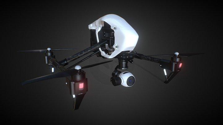 DJI Inspire1 PRO 3D model 3D Model