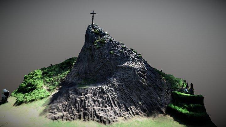 Druidenstein 3D Model