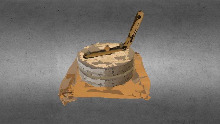 Flour Grinder 3D Model