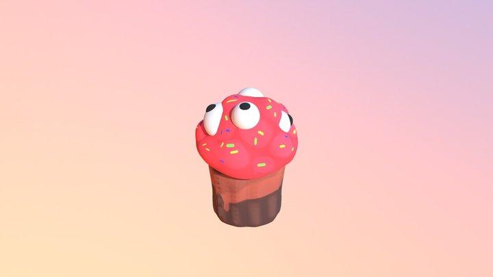 Cupcake Finished 3D Model