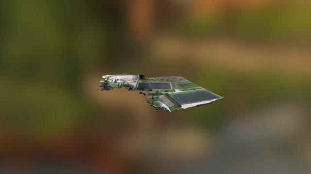 Lisbon University Stadium - 3D Mesh PIX4D 3D Model