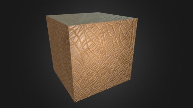 Leather Sml Texture 3D Model