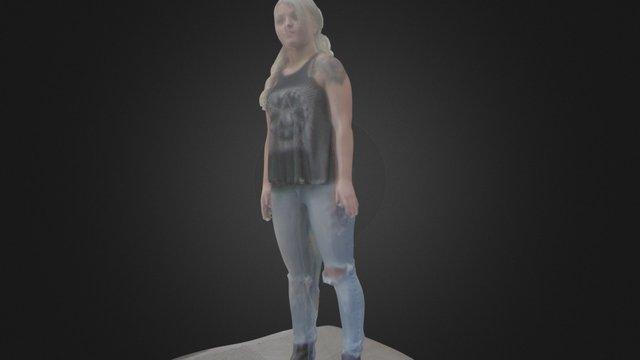 Justine 3D Model