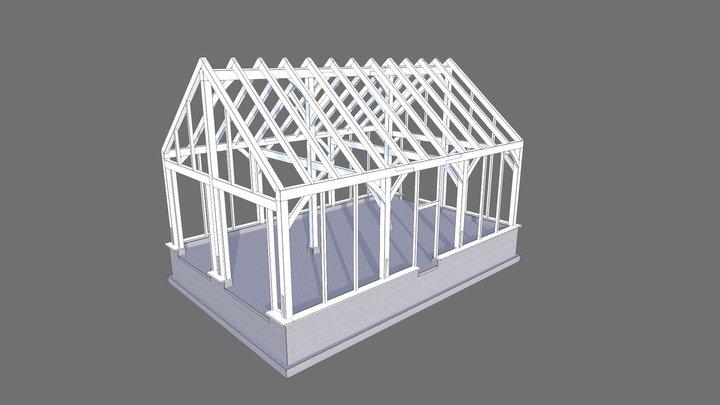 Groveland Barn Aug9 3D Model