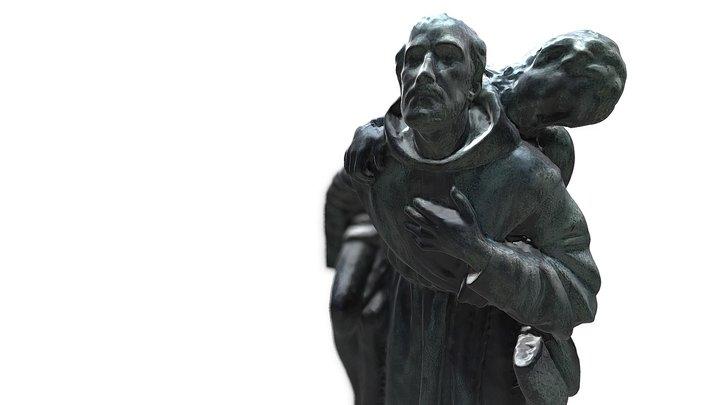 São João de Deus | Juan de Dios 3D Model