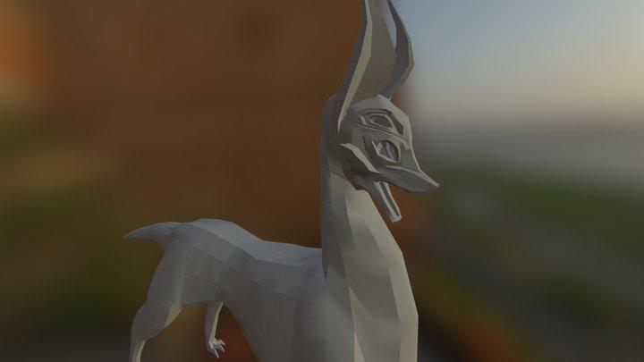 Forrest Spirit Skin 3D Model