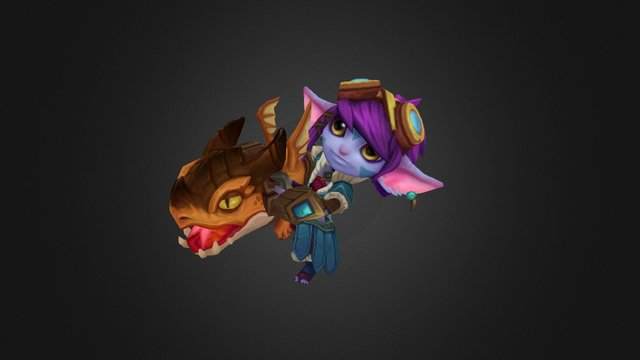 Dragon Trainer Tristana 3D Model