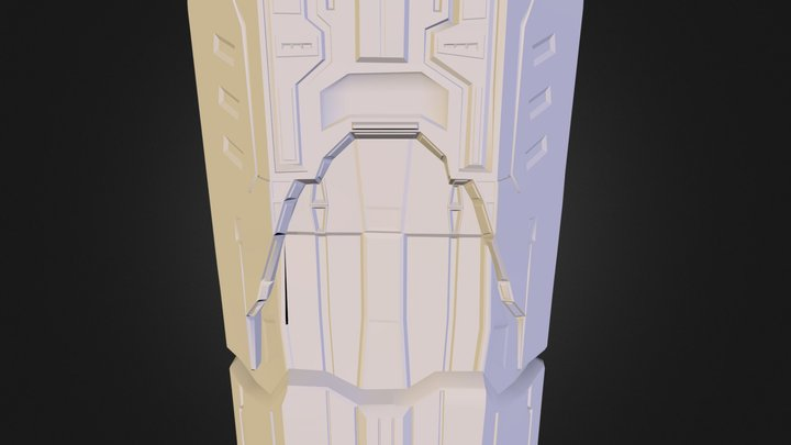 Fusion Coil (High Poly) 3D Model