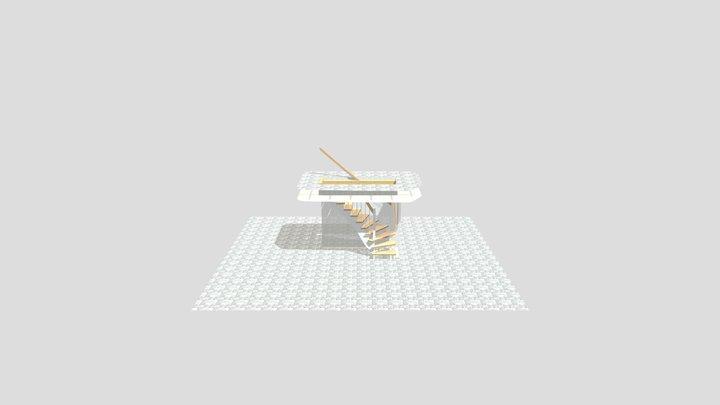 K�llartrappa 3D Model