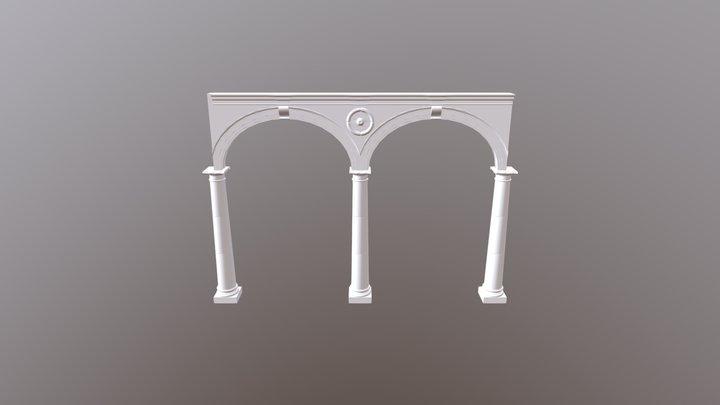 Arcos patio Betxí 3D Model