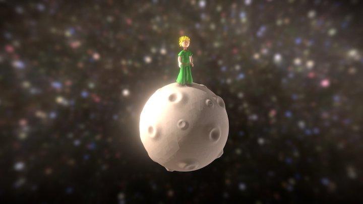 Le Petit Prince 3D Model
