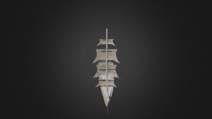 Barco Antiguo 3D Model