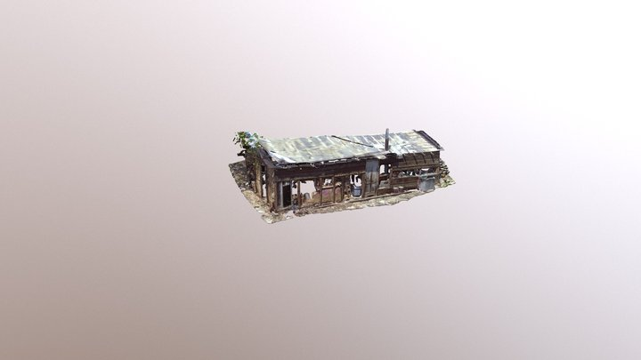 Outbuilding at 21 Taylor, Deadwood SD 3D Model