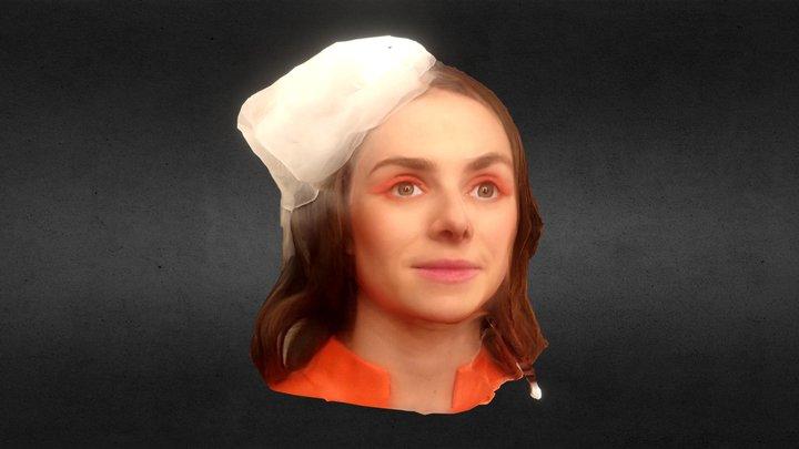 Margarita as Giulietta 3D Model
