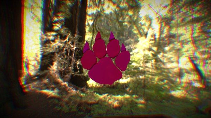WildKat Paw 3D Model