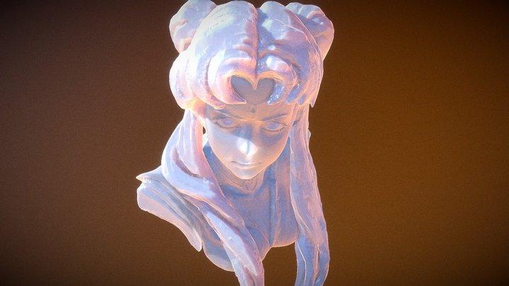 美少女戦士セーラームーン Tsukino Usagi 3D Model