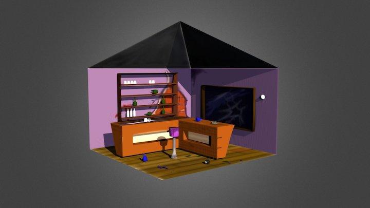 Bar 2 3D Model