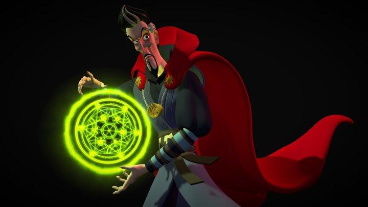 Doctor Strange 3D Model