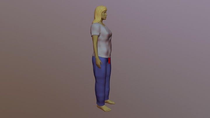 Shirt and Pants Practice 3D Model