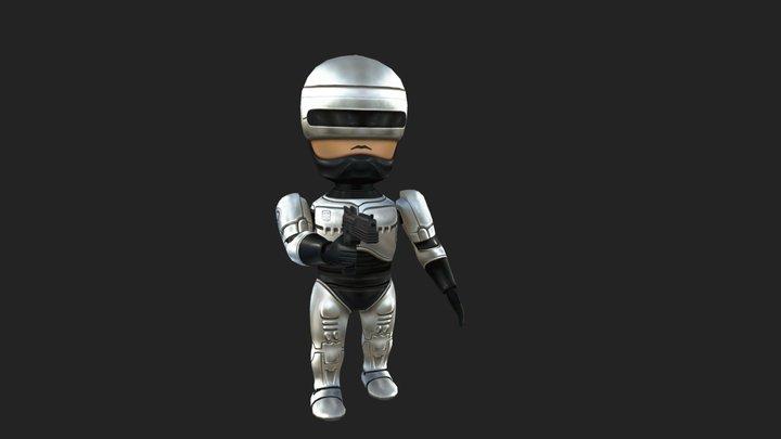 Chibi Robocop 3D Model
