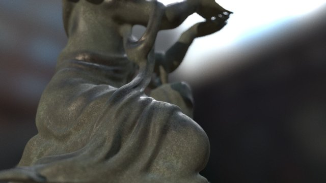 Buddha_I_001 3D Model