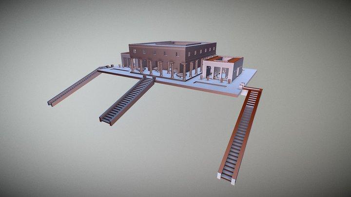 Aphrodite's temple 3D Model