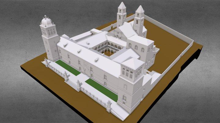 Hospital de Santiago 3D Model