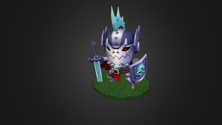 Animot Knight 3D Model