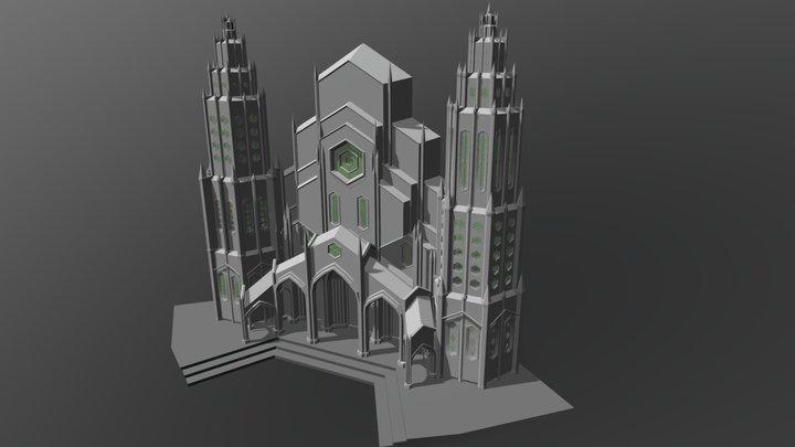 Fachada Catedral (En proceso) 3D Model