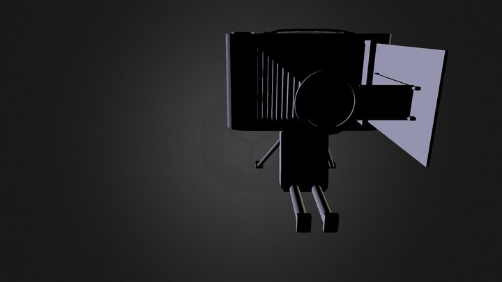 Sketchfab Surrealist Hollowcamera 3D Model