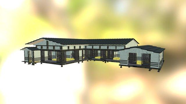 Casa Japonesa 3D Model