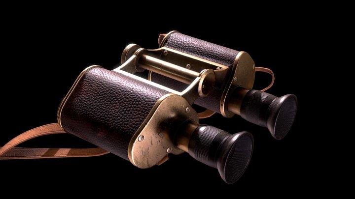 Feldstecher Golden Variant 3D Model