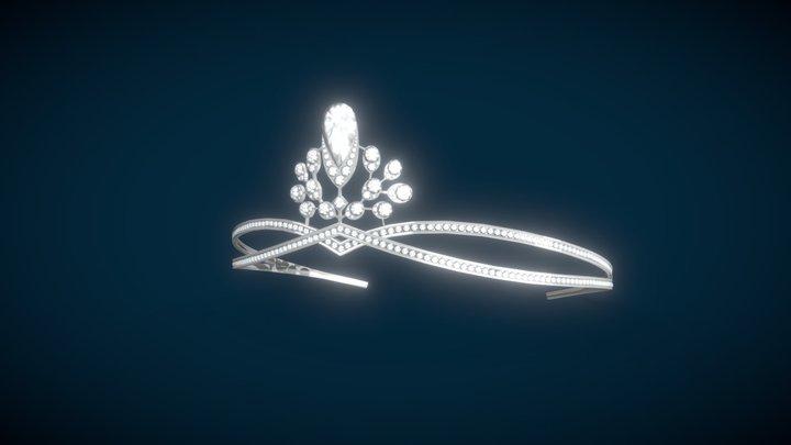 Diademe Josephine CHAUMET Low Poly 3D Model