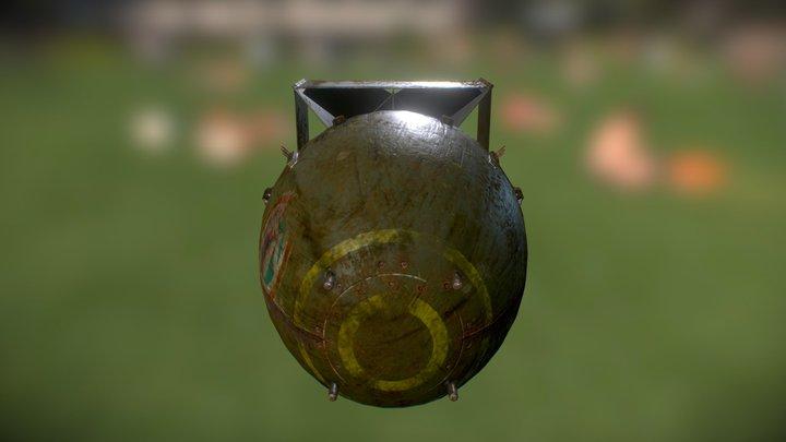 Damaged 3D Model