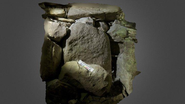 Megalithic Art Carrowkeel 3D Model