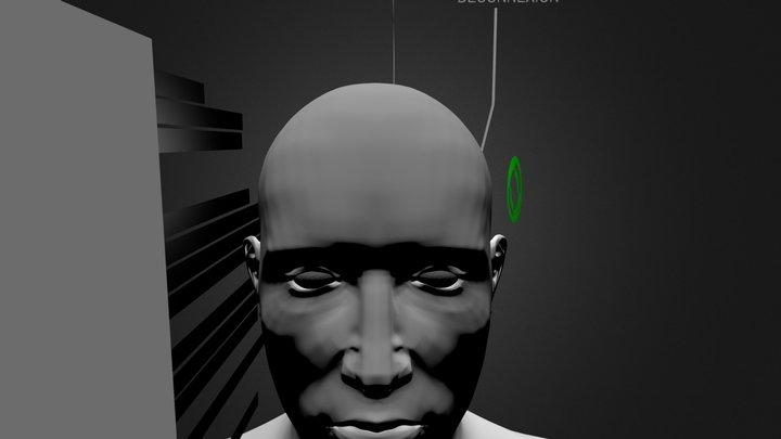 2 - Deconnexion 3D Model