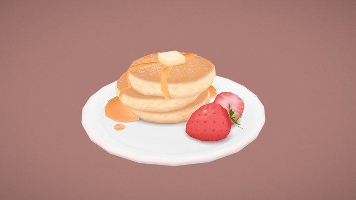 Sweet pancakes 3D Model