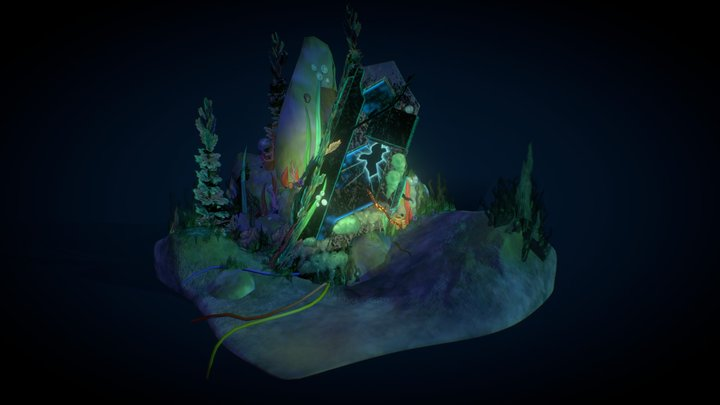 'The End of An Era.' - AS1: Teeming Atlantis 3D Model