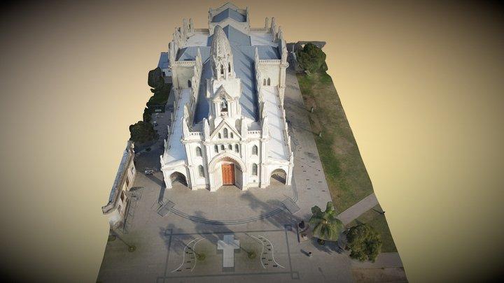 Basilica de Guadaulpe (Santa Fe - Argentina) 3D Model