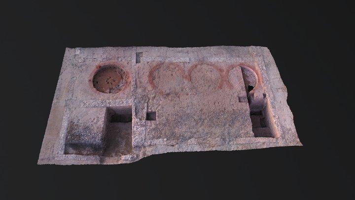 Mapping 3D drone arqueología - AirDroneVision.es 3D Model