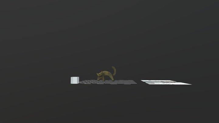 Gatto, Guasina 3D Model