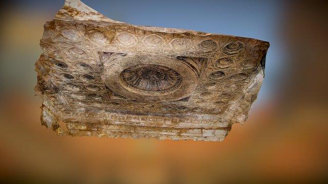 Ceiling inside the Temple of Bel 3D Model