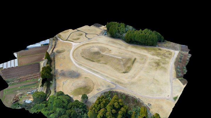岩原古墳群 3D Model
