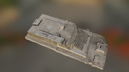 The Temple of Isis, Stobi, Republic of Macedonia 3D Model